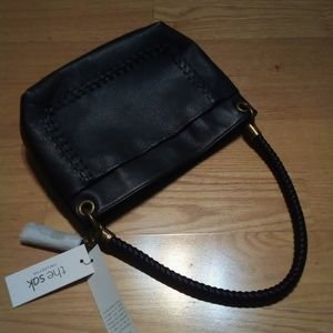 The Sak Flores Leather Bag, Black NWT
